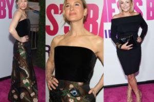 """Renee Zellweger i Helen Fielding na kolejnej premierze """"Bridget Jones 3"""" (ZDJĘCIA)"""