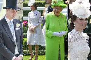 Tak brytyjska rodzina królewska bawiła się na wyścigach w Ascot (ZDJĘCIA)