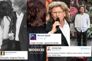 """Zbigniew Wodecki we wspomnieniach artystów, celebrytów i polityków: """"Zazdroszczę Aniołom, teraz niebo będzie słuchało Twoich piosenek"""""""