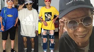 """88-latka z Tajwanu stała się """"ikoną miejskiego stylu""""! """"Może powinnam sobie zrobić tatuaż?"""" (ZDJĘCIA)"""
