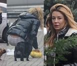 Małgorzata Rozenek w piżamie sprząta po psie (ZDJĘCIA)