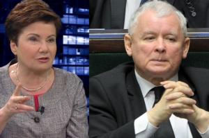 """Gronkiewicz-Waltz: """"Pistolet Kaczyńskiego jest we mnie wycelowany!"""""""