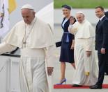 Papież Franciszek wylądował w Polsce! (ZDJĘCIA)