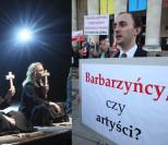 Teatr Powszechny broni spektaklu z papieżem: