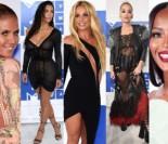 Gwiazdy na gali MTV: Kim Kardashian, Britney Spears, Rita Ora... (DUŻO ZDJĘĆ)