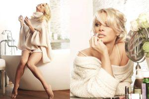 "Pamela Anderson pozuje w ""Harper's Bazaar"""
