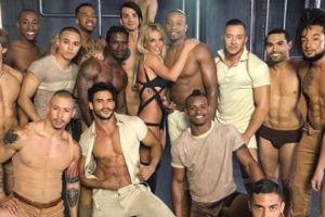Britney Spears na planie nowego teledysku