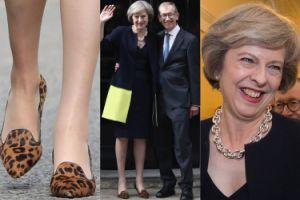 Nowa premier Wielkiej Brytanii założyła na spotkanie z królową... szpilki w panterkę! (ZDJĘCIA)
