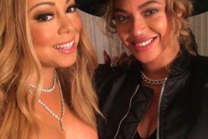 Beyonce i Mariah Carey pozują z dziećmi (FOTO)