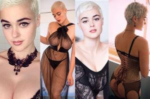 """Nowa gwiazda """"mody XXL"""" - Stefania Ferrario: """"Jestem biseksualna!"""" (ZDJĘCIA)"""