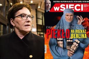 """Ewa Kopacz pozywa """"wSieci"""" za tę okładkę!"""