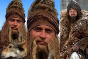 Adamczyk też pozuje z wilkiem. Prawie jak DiCaprio (FOTO)