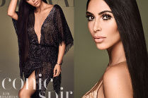 "Kim Kardashian udaje Cher w ""Harper's Bazaar"""