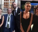 Bachleda-Curuś przyszła z Gortatem na bankiet dla książęcej pary! (FOTO)