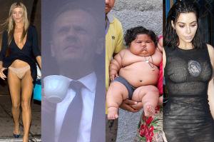 ZDJĘCIA TYGODNIA: Donald Tusk w oknie prokuratury, majtki Dżoany i 8-miesięczna dziewczynka ważąca 18 kilogramów! (ZDJĘCIA)