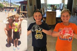 Britney Spears chwali się zdjęciami synów (FOTO)