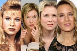 Tak zmieniała się twarz Renee Zellweger... (ZDJĘCIA)