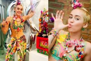 """Miley Cyrus pokazała swoją """"instalację artystyczną!"""""""