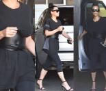 Kim Kardashian w podkoszulku i...