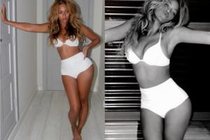 Beyonce dementuje plotki: POKAZAŁA BRZUCH!