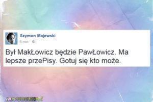 Szymon Majewski komentuje zwolnienie Makłowicza