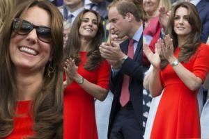Kate i William na trybunach Wimbledonu (ZDJĘCIA)