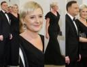 Agata Duda w czarnej sukni na spotkaniu z dyplomatami (ZDJĘCIA)