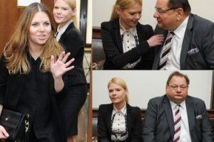Kalisz z młodą żoną i Olą Kwaśniewską w sądzie! (ZDJĘCIA)