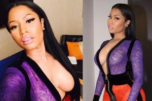 Nicki Minaj chwali się krągłościami!