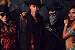 "Lewandowscy na ""western party"" (FOTO)"