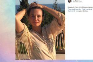 Naturalna Kinga Rusin pozdrawia z wakacji