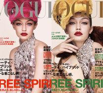 Gigi Hadid pozuje w futrzanych czapkach