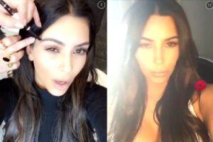 Kim Kardashian założyła Snapchata!
