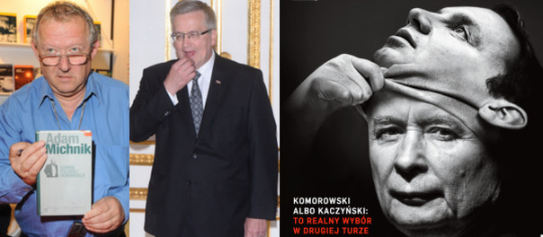 """Adam Michnik u Lisa: """"Komorowski przegra wybory tylko, jeśli pijany przejedzie na pasach zakonnicę w ciąży"""""""
