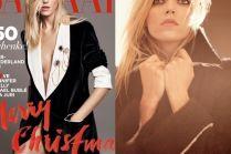 "Anja Rubik na okładce ""Harper's Bazaar"""