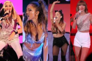 Lopez, Stefani, Swift i Grande na jednym koncercie! (ZDJĘCIA)
