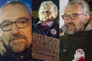 Mateusz Kijowski protestuje pod Sejmem (ZDJĘCIA)