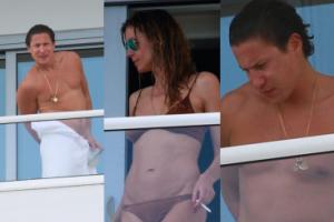 Heidi Klum z kochankiem na wakacjach w Miami (ZDJĘCIA)