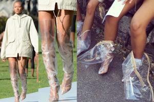 Modelki są wściekłe na Kanye Westa za plastikowe szpilki! (FOTO)