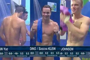 Telewizyjna wpadka na igrzyskach w Rio. Pływacy jak... gwiazdy porno! (FOTO)