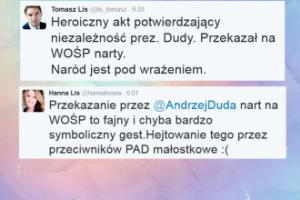 Konflikt u Lisów? Poszło o narty prezydenta