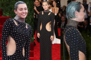 Miley Cyrus z niebieskimi włosami na gali MET! (ZDJĘCIA)