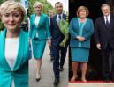 Pierwsze damy w zieleni: Agata Kornhauser-Duda i Anna Komorowska (ZDJĘCIA)