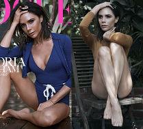 Victoria Beckham odsłania nogi w