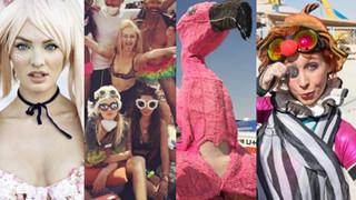 """""""Festiwal zepsucia"""" na pustyni w Nevadzie. To tam bawi się Natalia Siwiec! (ZDJĘCIA)"""