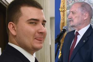 """Macierewicz o Misiewiczu: """"Jest pracownikiem ministerstwa! WYKORZYSTUJE URLOP"""""""