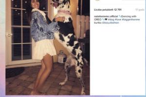 """Natalia Siwiec """"tańczy"""" z psem..."""