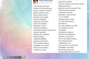 Paulina Młynarska napisała wiersz dla ojca