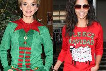 Gwiazdy w świątecznych swetrach. Urocze?