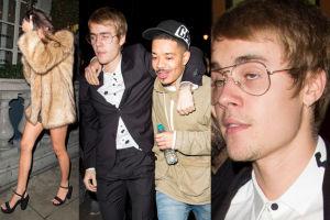Kolega wyprowadza pijanego Biebera z klubu (ZDJĘCIA)